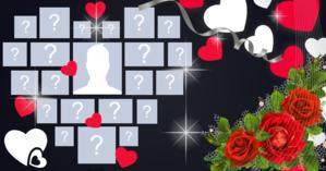 Create a beautiful heart with your most liked photos since your entry on Facebook today!