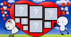 Heart Frame in love with 8 Fotos. Make yours!