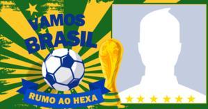Mostre seu apoio a nossa seleção. Em clima de Copa, Brasil rumo ao Hexa!