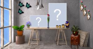 Moldura com dois Posters. Quais as duas fotos que você colocaria?