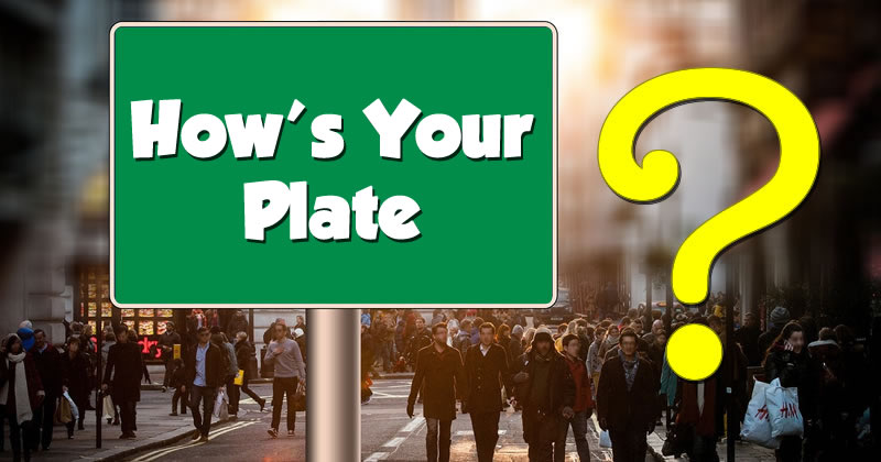 How's Your Plate? Login with Facebook and Discover!