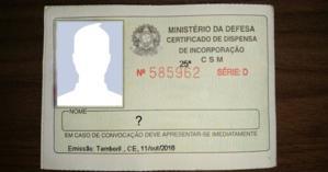 Porque você foi dispensado(a) do serviço Militar? Veja aqui seu certificado de despensa!