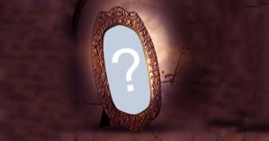 Que foto você colocaria na moldura em forma de relíquia?