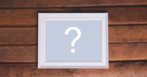 Añada su foto en este hermoso marco de madera con borde blanco