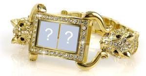 Adicione duas fotos nesta linda jóia de ouro e diamantes