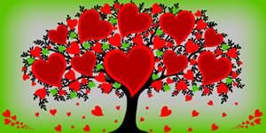 Crea Tu árbol del amor, hecho con amigos que te quieren!