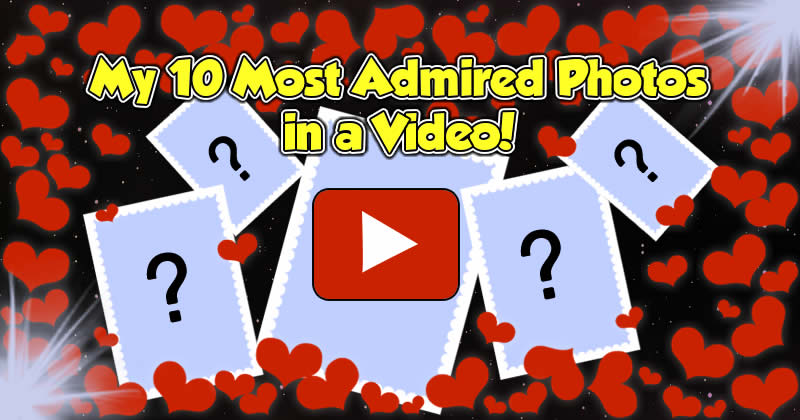 Remember your 10 Most Admired Photos in a Video!