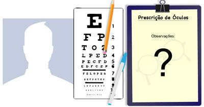 Qual o resultado do seu exame de vista?