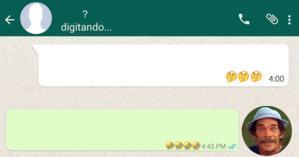 Como foi sua conversa com o Seu Madruga no Whatsapp?Faça o teste e descubra!