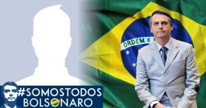 Faça sua foto montagem de apoio ao nosso futuro Presidente Jair Bolsonaro