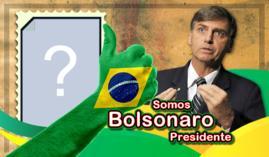 Moldura Bolsonaro Presidente. Coloque sua foto se você apoia!