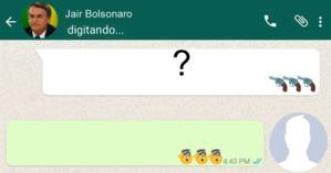 O que o Bolsonaro disse a você no Whatsapp? Faça o teste e descubra!