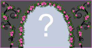 Lindo Arco de Flores. Qual foto você colocaria nele?