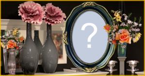Qual Foto você colocaria neste lindo porta retrato de Louça?