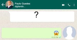 O que Paulo Guedes disse a você no WhatsApp?