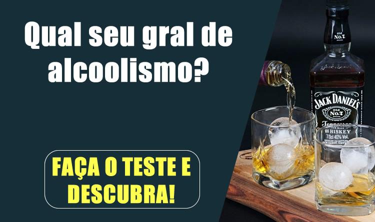 Qual seu gral de alcoolismo? Faça o teste e descubra!