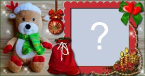 Linda Marco de Navidad. ¡Añada su Foto!