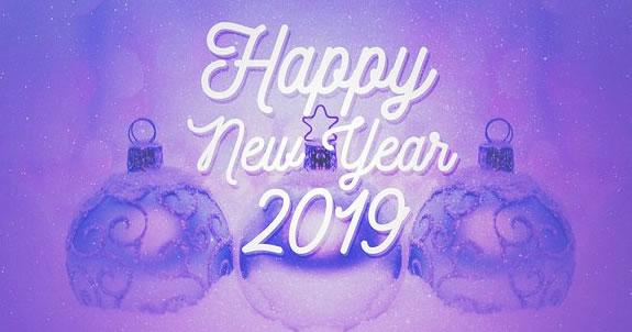 Linda mensagem de ano novo com 40 amigos