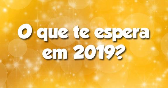 O que te espera em 2019?