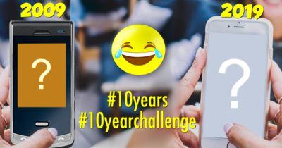 O que mudou em 10 Anos? Entra no desafio #10years