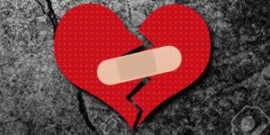 O que deixa seu coração em pedaços?