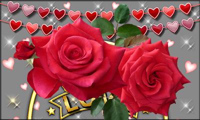 Como ficaria sua Foto em uma Moldura com Rosas?