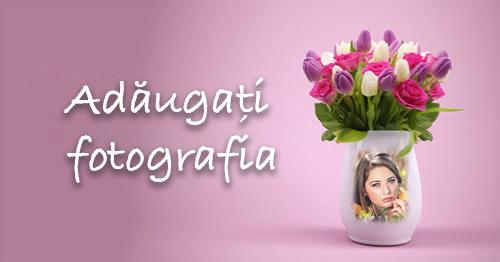 Cum ar arăta poza dvs. într-un vas frumos de flori?