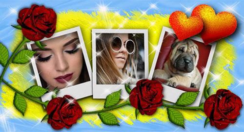 Crea un bellissimo collage con 3 foto di te!