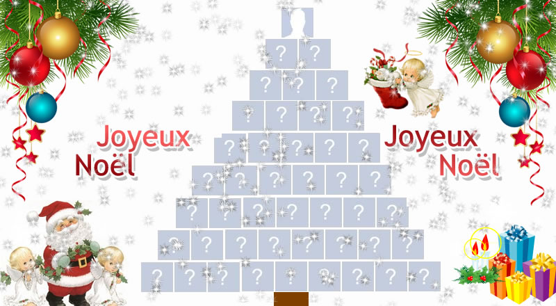 Créez un bel arbre de Noël avec 44 amis Facebook!