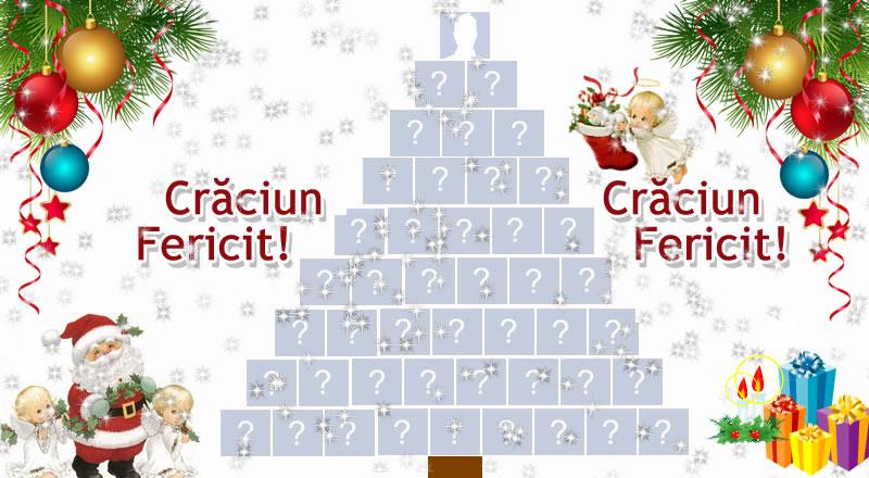 Creați un copac de Crăciun cu 44 de prieteni!