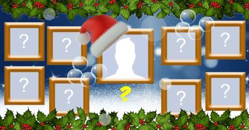Mosaico de Natal com foto sua mais 8 amigos. Faça o seu!