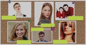 Como seria seu mural de amigos?