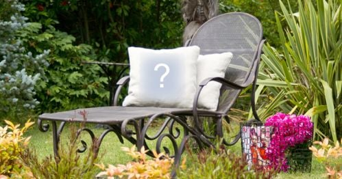 Add your photo on a cushion on top of a chair!