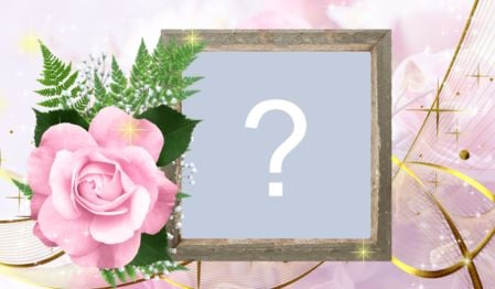 Beautiful rose frame. Create yours!