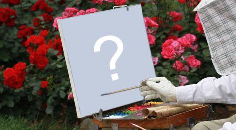 Faça uma linda montagem com sua foto sendo pintada na tela!