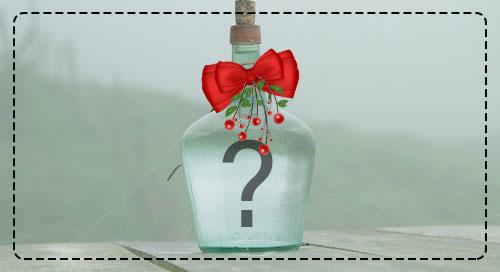 Faça uma montagem com sua foto estampada no garrafão de vidro!