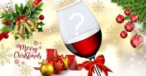 Pune-ți fotografia în paharul de vin de Crăciun!