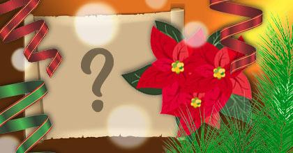 Linda montagem de Natal com foto na folha de papél. Faça a sua!