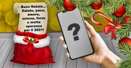 Bella cornice con messaggio di Natale. Aggiungi la tua foto!