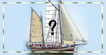 Faça uma montagem com sua foto no barco veleiro!