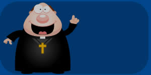 Qual conselho o padre quer te dar?