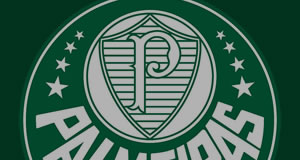 Mosaico de fotos do Palmeiras
