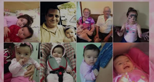 Mosaico com 8 fotos do Facebook