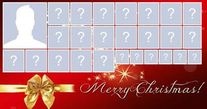 Crie o seu mosaico de Natal com 25 amigos!
