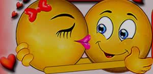 Para quais amigos você mandaria beijinhos no coração?