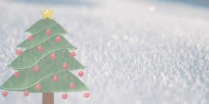Árvore de Natal feita de amigos, com mensagem! Crie a sua!
