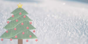 Christmas tree made of friends! Create yours!