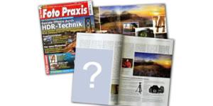 Como ficaria sua Foto na Revista?