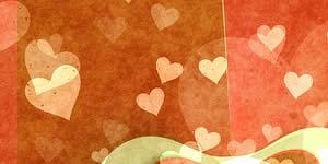 Mosaico de 2 corações com 23 amigos