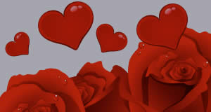 Mosaico de corações com 12 amigos! Crie o Seu!